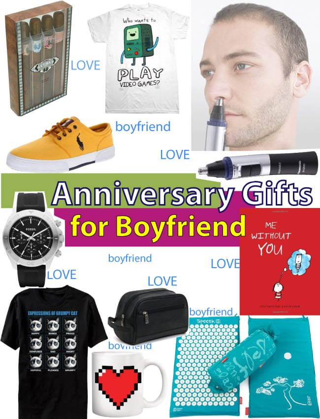 Best anniversary gift ideas for boyfriend vivid 39 s for Ideas for boyfriend birthday gift