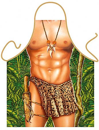 Apron for Men Tarzan