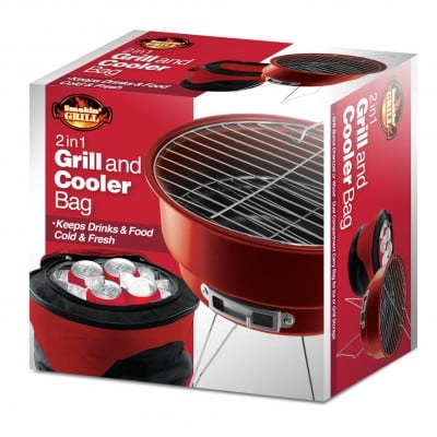 BBQ Grill Cooler Combo