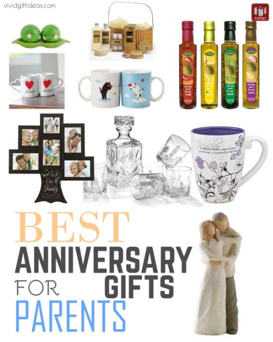 Best Anniversary Gifts for Parents