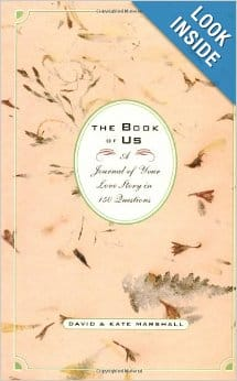 Book of Us A Journal of Your Love Story in 150 Questions
