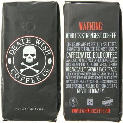 World's Strongest Coffee-Death Wish Coffee
