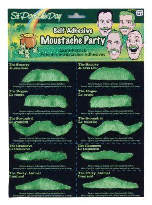 St. Patrick's Day Mustache