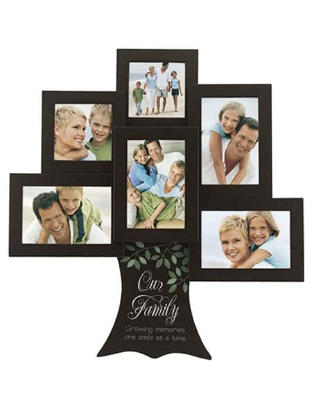Our Family Tree - Growing memories one smile Great Woods Frame - Best Anniversary Gifts for Parents