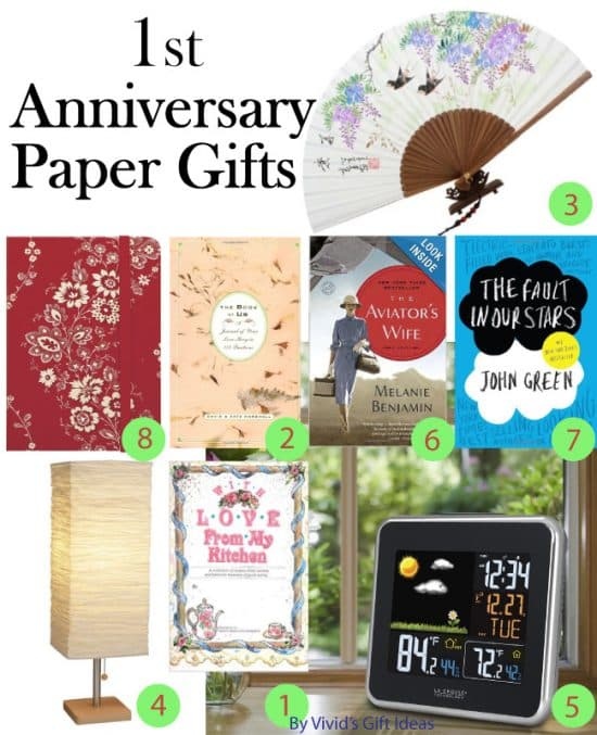 Paper Anniversary Gifts for Her