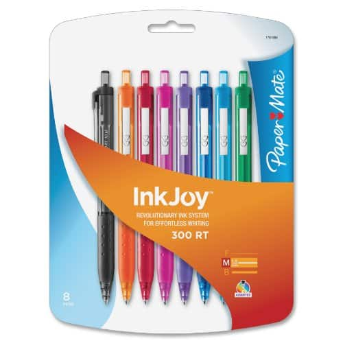 Paper Mate InkJoy 300 RT Retractable Medium Point Ballpoint Pens