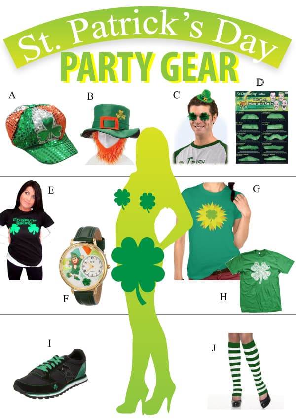 St. Patrick's Day Party Gear Review