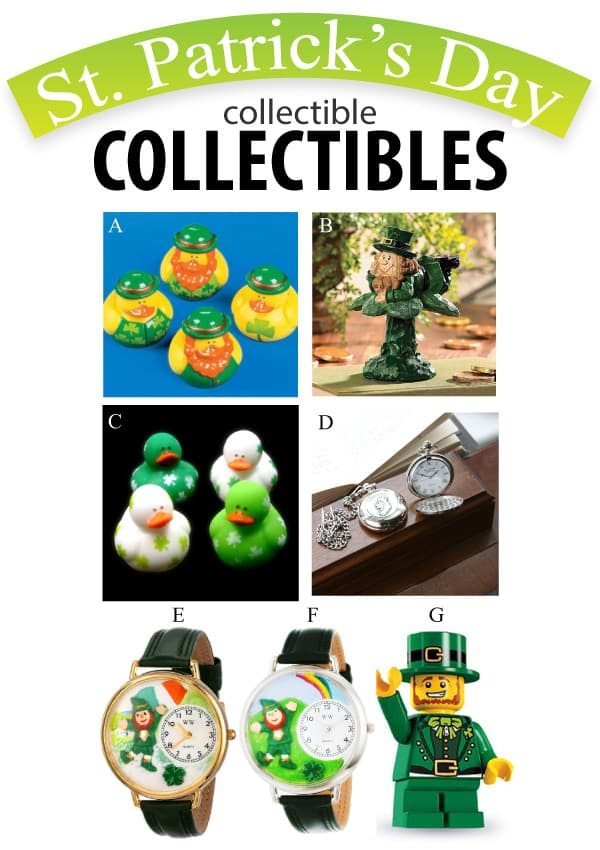 St. Patrick's Day Collectible Collectibles