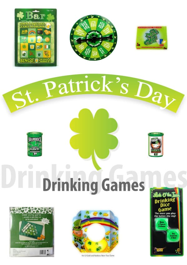 St. Patrick's Day Drinking Games