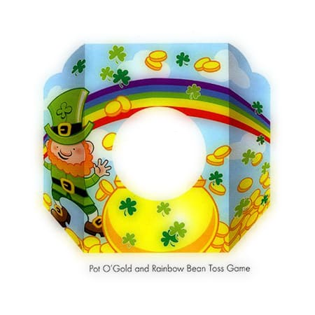 St. Patricks Day Party Bean or Coin Toss Game Pot O'gold