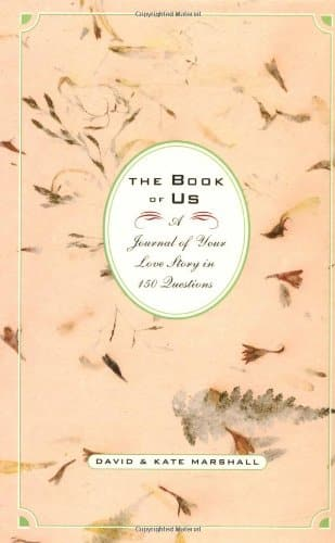 The Book of Us (Paper anniversary gift ideas)
