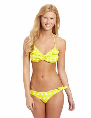 U.S. Polo Assn. Juniors Polka Dot Print Bikini