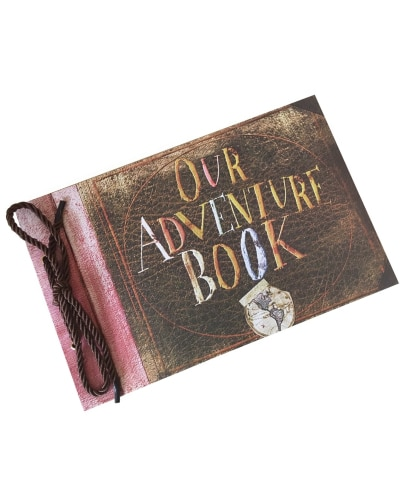 Our Adventure Book from Pixar Up Movie. First Wedding Anniversary Paper Gift Ideas.