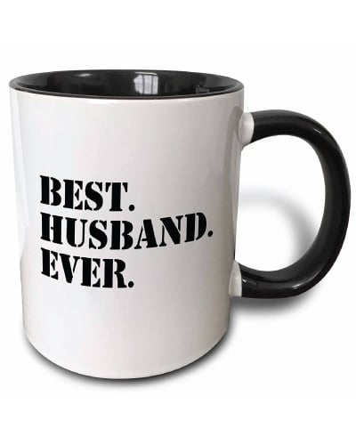 Best Husband Ever Fun Mug (Wedding Anniversary Gift for Him)