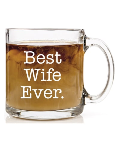 Best Wife Ever Coffee Mug. Wedding anniversary gifts for her