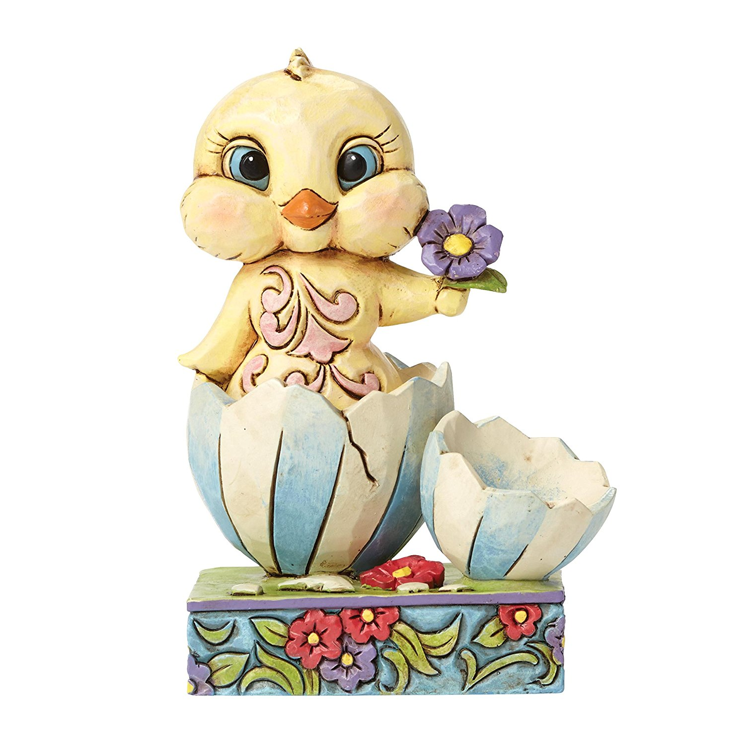 Easter Chick Spring Figurine