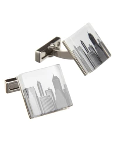 Kenneth Cole Men's City Scape Cufflinks