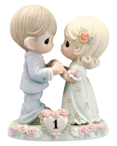 Precious Moments Figurine - 1st wedding anniversary gift ideas