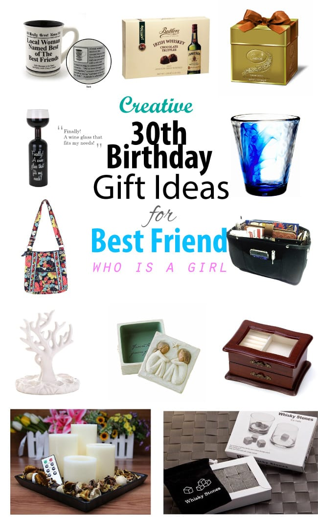30th Birthday Gift Ideas For Female Best Friend