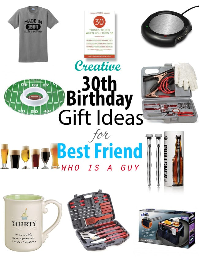 30th Birthday Gift Ideas For Male Best Friend
