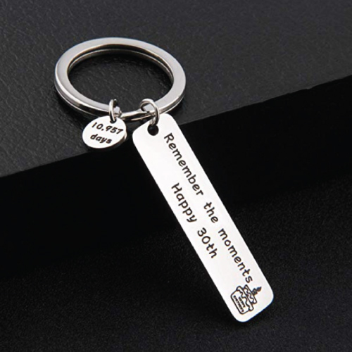 Remember The Moments Keychain