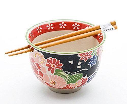 Noodle Bowl with Chopsticks Gift Set