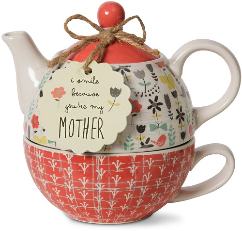 Bloom Mother Ceramic Tea for One