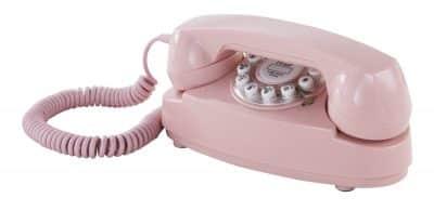 Crosley Princess Desk Phone Pink
