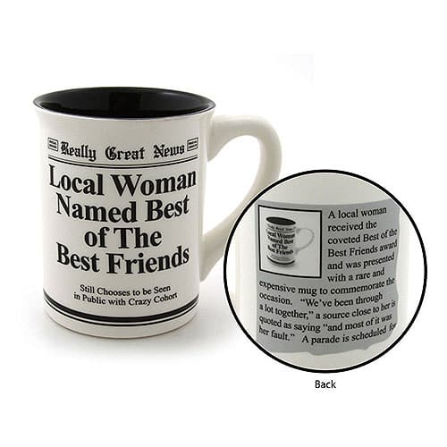 Enesco Best Friends Mug
