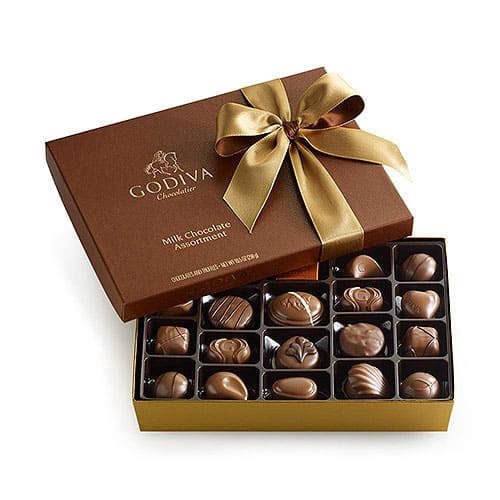 Godiva Chocolatier Milk Chocolate Gift Box