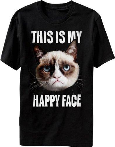 Grumpy Cat Happy Face T-Shirt