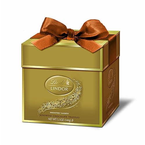 Lindt Lindor Truffles Token Gift Box