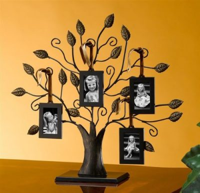 Bronze Tree of Life Family Photo Frames - Mother's Day