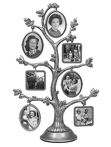 Malden Family Tree Fashion Metal Frame