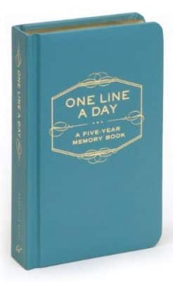 One Line a Day: A Five-Year Memory Book Diary