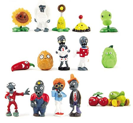 Plants vs Zombies Collectible Toys (16 Figurines)