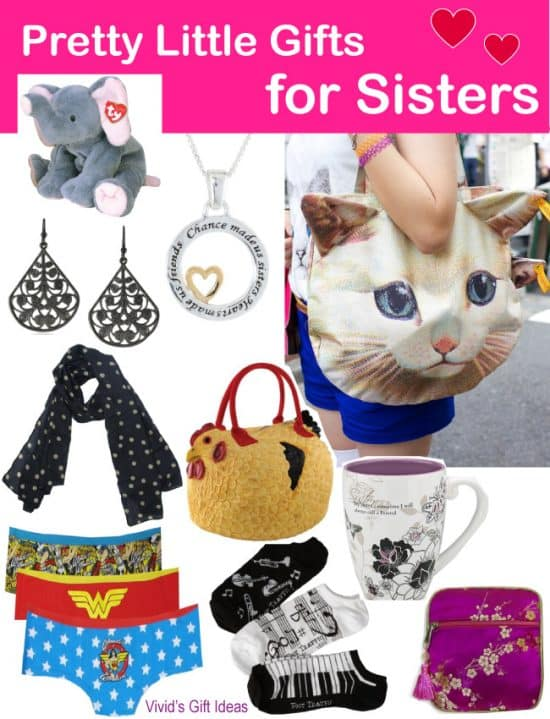 Gift Ideas for Sisters