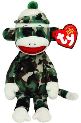 Sock Monkey Ty Beanie Babies