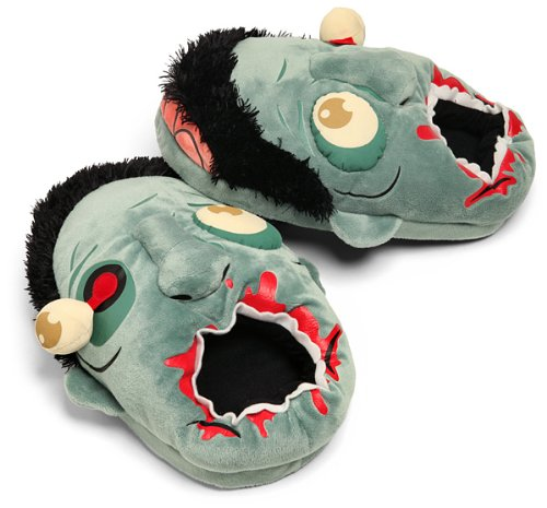ThinkGeek - Zombie Plush Slippers