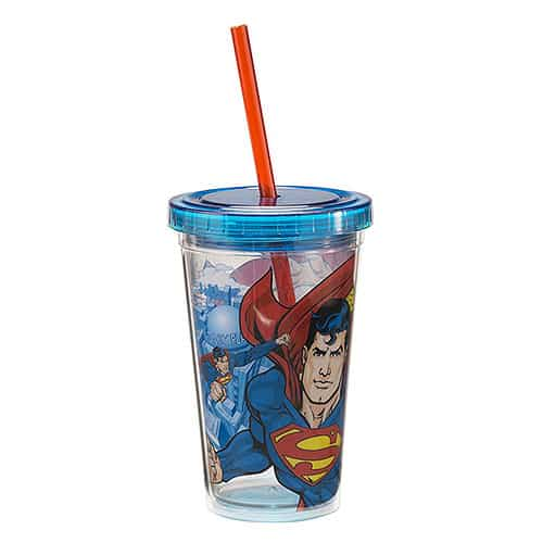 Superman Travel Cups