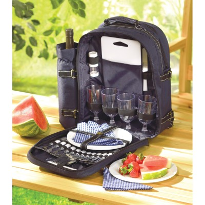 All In One Outdoor Dining Ware Backpack