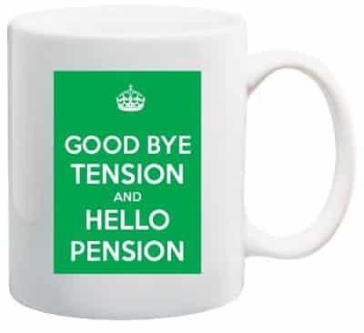 Keep Calm Retirement Coffee Mug (Retirement Gifts For Teachers)