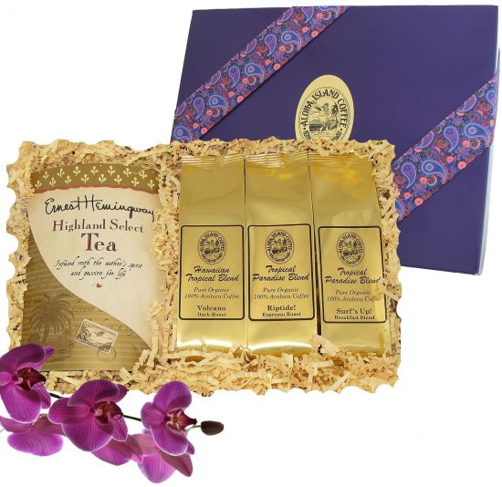 Kona Hawaiian Gourmet Coffee Gifts