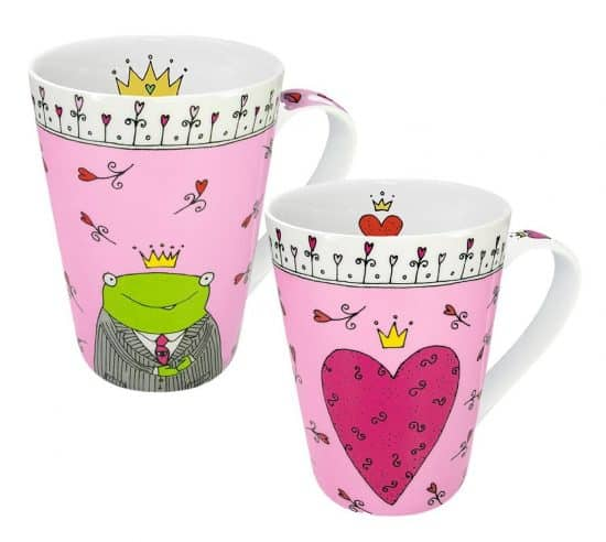 Konitz Princess/Prince of My Heart Mugs,