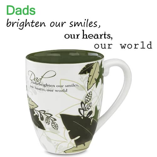 Mark My Words Dad Mug