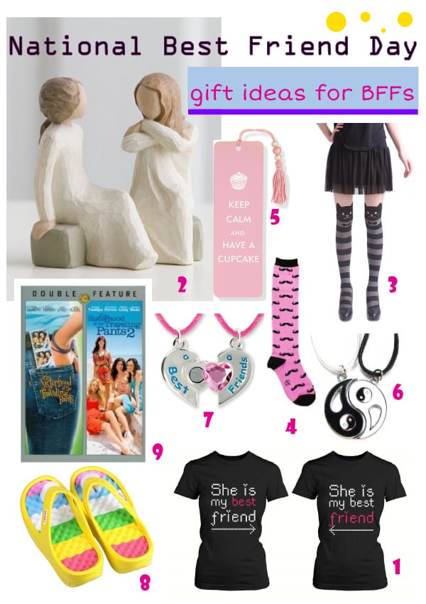 National Best Friend Day 8 Gift Ideas For Your Best