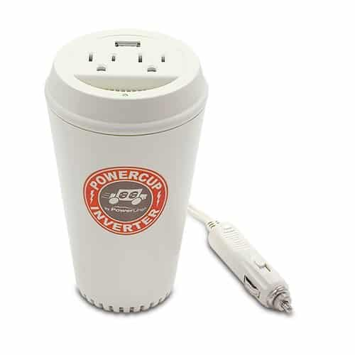 PowerLine PowerCup Mobile Inverter with USB Power Port