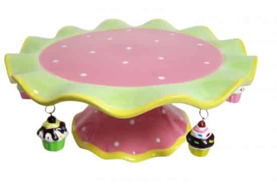 Sassafras Pedestal Cake Stand