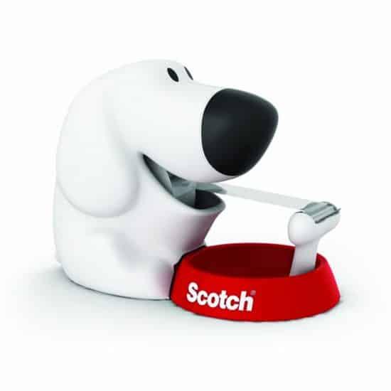 Scotch Dog Tape Dispenser with Magic Tape