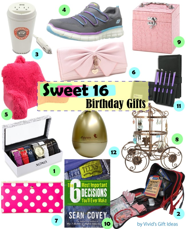 Gift Ideas For Girls Sweet 16 Birthday